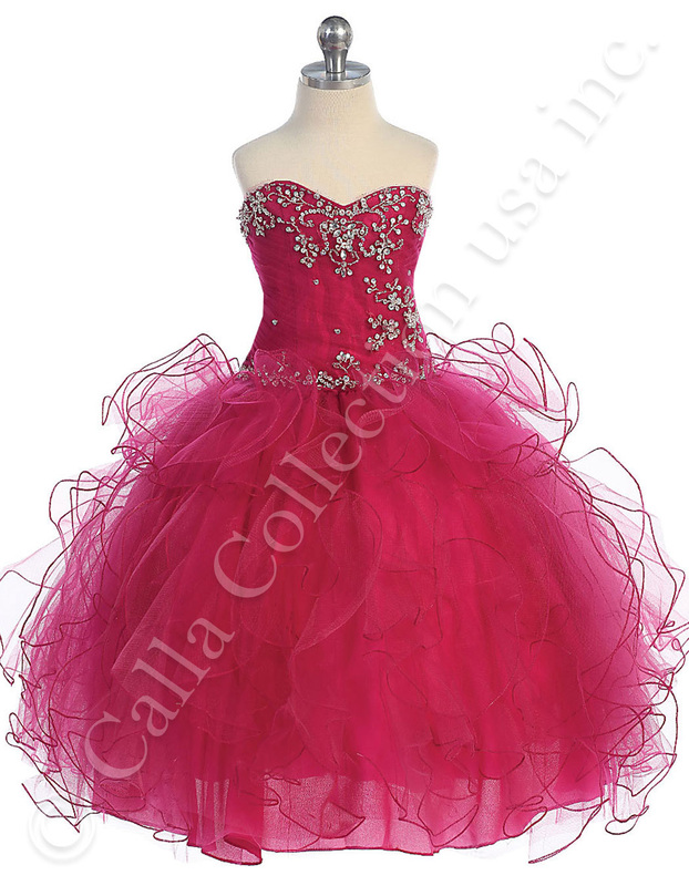 Pageant Dresses SY104