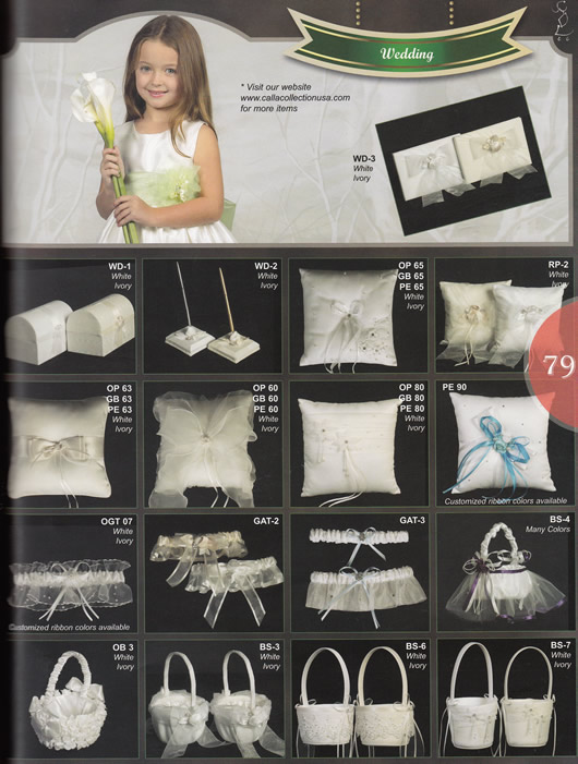 Wedding Accessories page